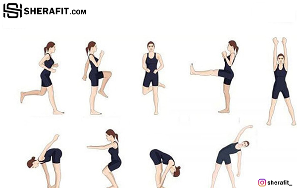 آموزش نحوی گرمکردن بدن قبل از ورزش