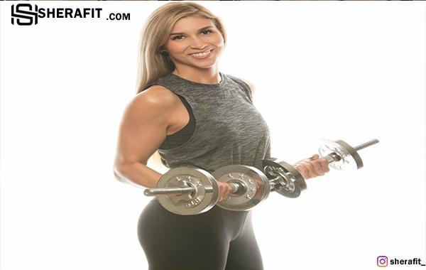 بانوان چگونه عضله سازی کنند؟
