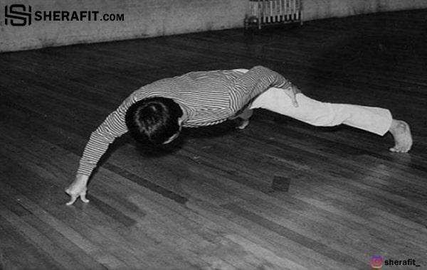 عضله سازی با حرکت شنا