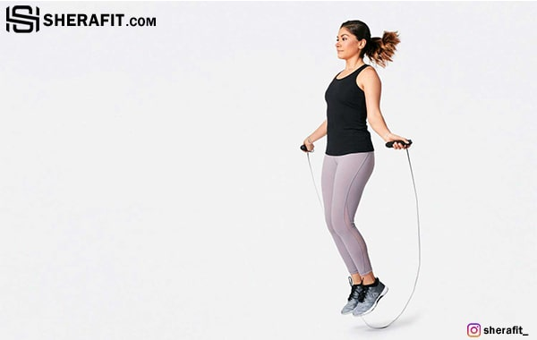 با طناب زدن عضله سازی کنید